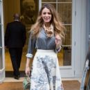 Blake Lively – Leaving Dior office in Paris