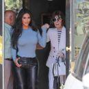 Kim Kardashian – Leaves Italian restaurants in Calabasas - 454 x 681