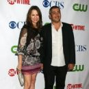 Paula Marshall and Danny Nucci