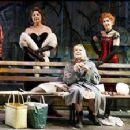From left, Priscilla Lopez, Carlin Glynn, Marylouise Burke (sitting), Katherine Helmond, and Joyce Van Patten.
