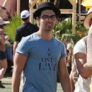 Nick & Joe Jonas COACHELLA BROS (April 13)