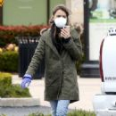 Lily Collins – Grocery run in Los Angeles