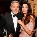 George Clooney and Amal Alamuddin : American Film Institute's 46th Life Achievement Award Gala Tribute - 454 x 553