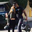 Chrishell Stause – With DWTS fellow member and new boyfriend Keo Motsepe in Beverly Hills