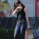 Dakota Johnson – Leaving Erewhon Market in Los Angeles
