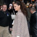 Katie Holmes making an appearance on 'Good Morning America' in New York City, New York on March 29, 2017 - 435 x 600