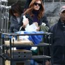 Julia Roberts – On the 'Ben is Back' set in New York City
