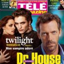 Kristen Stewart, Robert Pattinson, Hugh Laurie - Tele Magazine Cover [France] (28 November 2009)