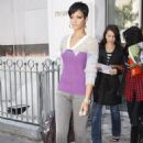 "Rihanna - Leaving Hotel ""Murano"" In Paris, France, 19/09/08"