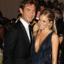 Sienna Miller and Jude Law at The Costume Institute Gala