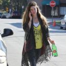 Shailene Woodley was seen heading to yoga today, January 24, in Los Angeles