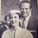 Charlton Heston, Lydia Marie Clarke - 454 x 615