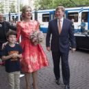 King Willem-Alexander and Queen Maxima of The Netherlands Open Holland Festival - 454 x 591