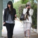 Vanessa Hudgens out shopping with a friend in Beverly Hills, California on January 30, 2014