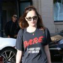 Dakota Johnson – Shopping at Barney's New York in Beverly Hills - 454 x 681