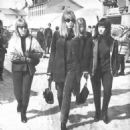 Cynthia Powell, Pattie Boyd, Sonnie Drane and Maureen Cox