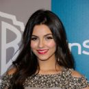 Victoria Justice at 13th Annual Warner Bros. and InStyle Golden Globe Awards After Party at The Beverly Hilton hotel on January 15, 2012