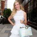 Beth Behrs at AOL Build in NYC