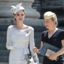 Angelina Jolie : Order Of St George 200th Anniversary Service