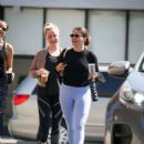Sophia Bush in Tights – Shopping at Farmers Market in Los Angeles