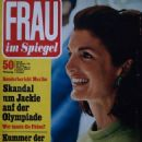Jacqueline Kennedy - Frau im Spiegel Magazine Cover [West Germany] (26 October 1968)