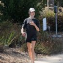 Margaret Qualley – Out for jogging in Los Angeles - 454 x 544
