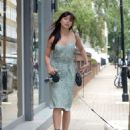 Daisy Lowe – Spotted while out walking her dog in London - 454 x 585