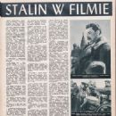 Joseph Stalin - Film Magazine Pictorial [Poland] (15 December 1949) - 454 x 649