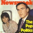Jerry Brown, Linda Ronstadt - Newsweek Magazine Cover [United States] (23 April 1979)