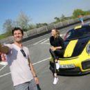 Maria Sharapova – Driving a Porsche 911 RT2 RS with Mark Webber in Stuttgart - 454 x 303