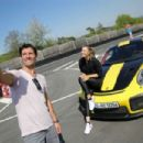 Maria Sharapova – Driving a Porsche 911 RT2 RS with Mark Webber in Stuttgart