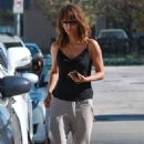 Halle Berry Arrives At Kinara Skin Care Clinic Spa In West Hollywood