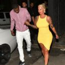 Amber Rose and Terrence Ross - 454 x 566