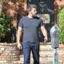 Ben Affleck is seen out and about  on September 3, 2015