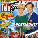 Aleksandra Wozniak, Cezary Pazura - Tele Tydzień Magazine Cover [Poland] (20 June 2014)