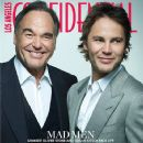 Taylor Kitsch, Oliver Stone - Los Angeles Confidential Magazine Cover [United States] (June 2012)