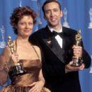 Susan Sarandon and Nicolas Cage At The 68th Annual Academy Awards (1996)