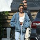 Vanessa Hudgens – Out for lunch in Los Angeles