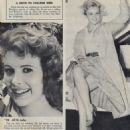 Jill St. John - Girl Watcher Magazine Pictorial [United States] (June 1959) - 454 x 593