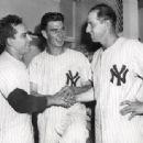 Yogi Berra, Tommy Byrne & Tommy Henrich