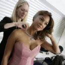 Eva LaRue Behind-the-scenes Of Browns Jewelers Photoshoot