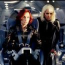 Famke Janssen as Jean Grey and Halle Berry as Storm in 20th Century Fox's X2: X-Men United - 2003