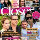Angelina Jolie and Brad Pitt - Closer Magazine Cover [United Kingdom] (1 October 2016)