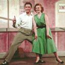The Pajama Game.Original 1954 Broadway Cast Starring John Raitt,Janis Paige, - 454 x 426
