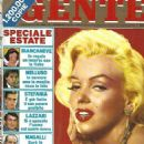 Marilyn Monroe - Gente Magazine Cover [Italy] (7 August 1987)