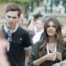 Victoria Justice and Nicholas Hoult