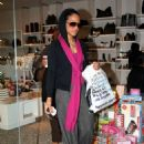 Christina Milian - Christina Out And About In Beverly Hills