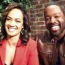 Kadeem Hardison and Tammy Townsend