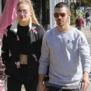 Sophie Turner and Joe Jonas out in Studio City February 15, 2017