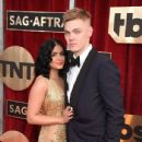 Ariel Winter and Levi Meaden- 23rd Annual Screen Actors Guild Awards - Arrivals